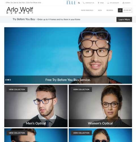 Arlo Wolf website image