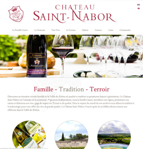 Chateau Saint Nabor website image
